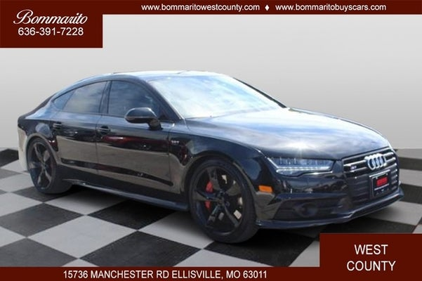 2018 audi s7 prestige ellisville mo st louis sappington chesterfield missouri wau2fbfc9jn004375 bommarito west county